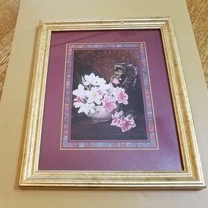 Other - Still Life Print in Gold Frame,